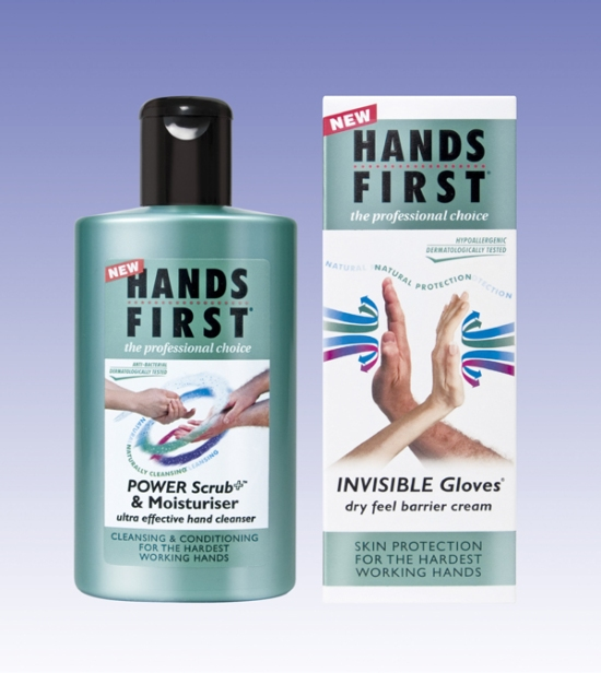 Hands First range