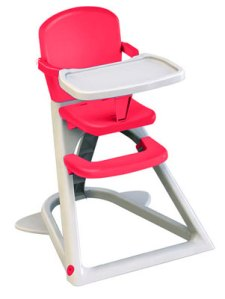 lindham highchair red