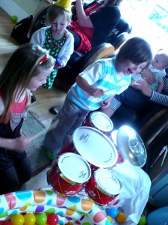 Birthday Drumming