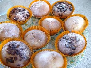 Birthday Halloween apple muffins
