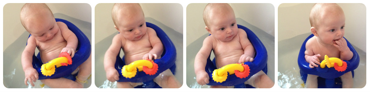 Review: Swivel Bath Seat | Baby Genie